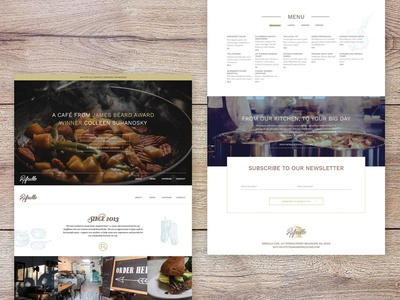 Rifrullo Microsite typography graphic design web design brand identity branding ux ui