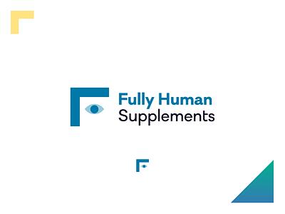 Fully Human Supplements E-Commerce Branding & Website adobexd adobedimension 3d label design packagedesign website design ux ui web logo design vector brand identity design graphic design branding