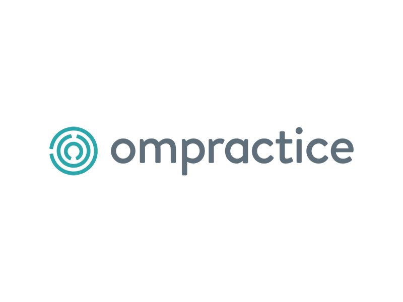 Ompractice Brand logo design brand identity