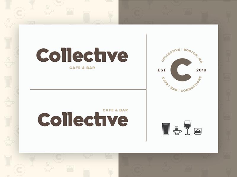 Collective Logo Process logo design brand identity