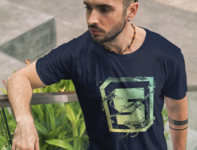 "Santoro Design ""S Elemental"" series shirt"