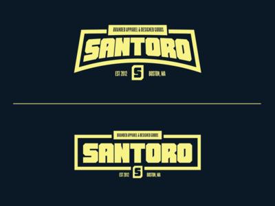 "Santoro Brand Apparel ""Lock-up"""