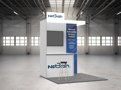 NetBrain Technologies: Service NOW London Booth