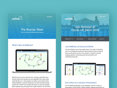 CiscoLIVE 2016 Email Blast Templates