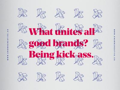 known.creative 2018 Brand Exploration