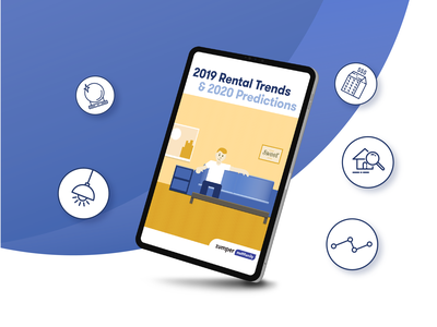 2019 Rental Trends & 2020 Predictions Report & Assets marketing content strategy email marketing web graphic design typography icon illustration design vector