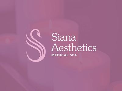 Siana Aesthetics Final Identity System advertising package design pattern design pattern logo design logo design print brand identity graphic design typography branding