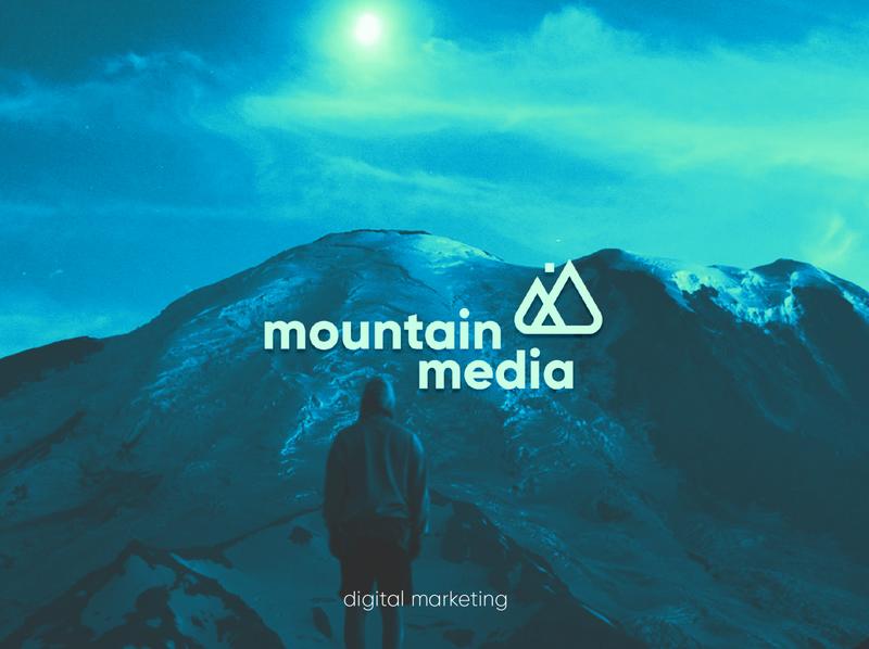 Mountain Media - Digital Marketing marketing media minimal logo graphicdesign design branding brand