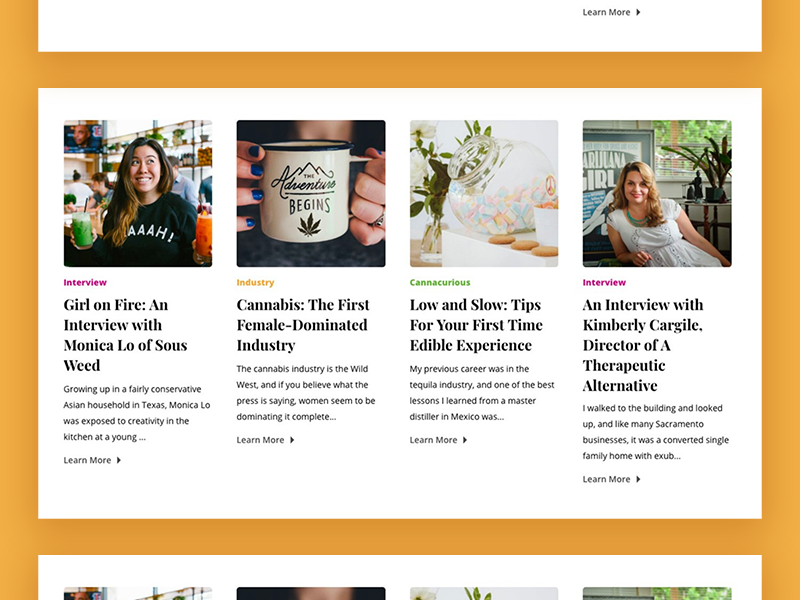 Website Design: Revel & Rouse by Kate 'Deets' Shay