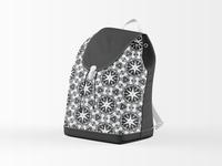 """Industrial Star"" backpack purse design"