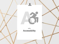 ABCs of UX - Accessibility