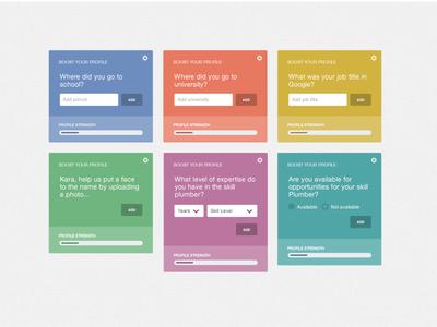 Progressive User Engagement skillpages website progressive engagement