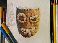 Wooden Sketch