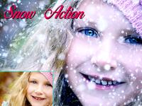 Amazing 15 Snow Photoshop Action