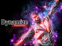 Amazing Dynamize Photoshop Action