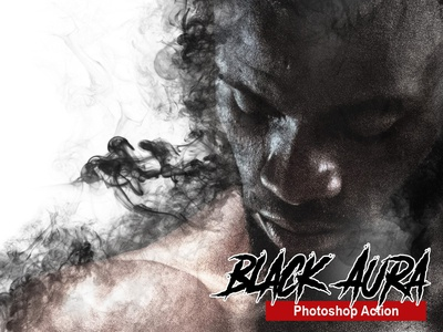 Amazing Black Aura Photoshop Action