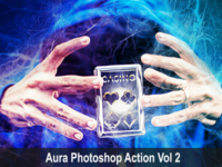 Amazing Aura Photoshop Action Vol 2