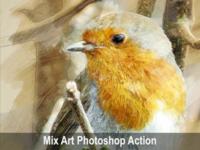 Amazing Mix Art Photoshop Action
