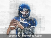 Amazing Journal Art Photoshop Action