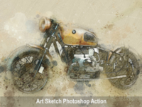 Amazing Art Sketch Photoshop Action