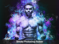 Amazing Smoke Photoshop Action