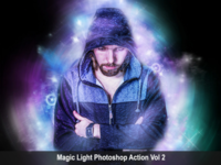 Amazing Magic Light Photoshop Action Vol 2