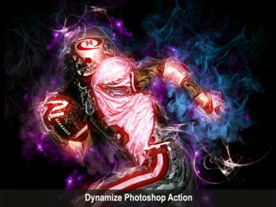 Amazing Dyamize Photoshop Action