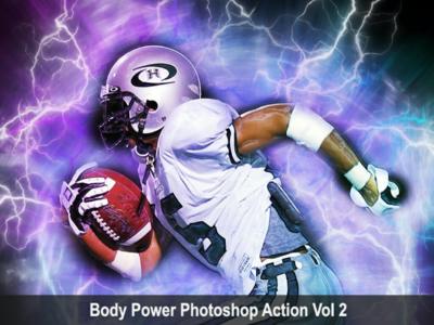 Amazing Body Power Photoshop Action Vol 2