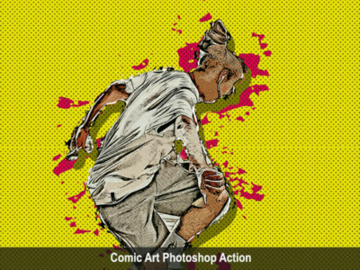 Amazing Comic Photoshop Action