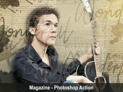 Magazine - Photoshop Action