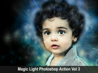 Magic Light Photoshop Action Vol 3