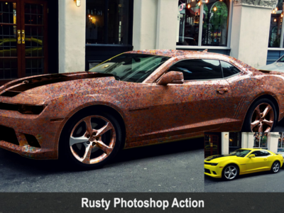 Rusty Photoshop Action