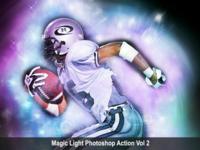 Magic Light Photoshop Action Vol 2