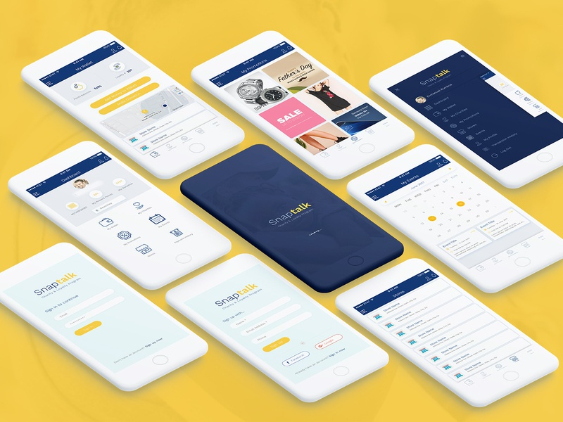 UI/UX Case Study - Charity & Loyalty Program