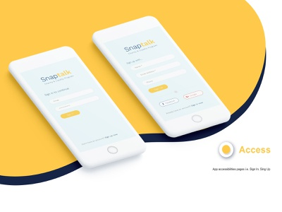 Sign In & Sign Up Screen uidesign mobile design mobile app design mobile ui mobile app