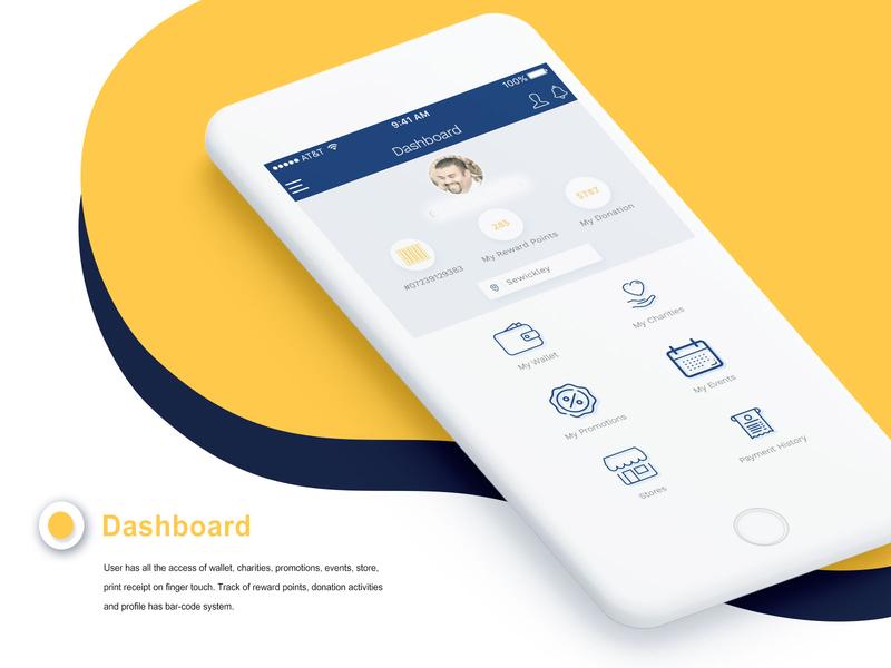 Mobile App Dashboard UI dashboard ui persona ui design best shots wireframing ux research uiux uxdesign uidesign mobileappui