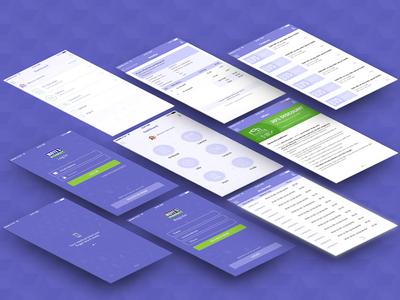 User Interface of Moyes Pharmacy Mobile Application
