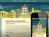 Drupal GovCon 2018 Website