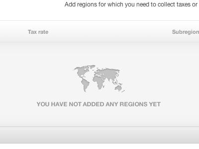 Regions & Taxes