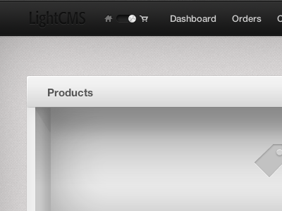 Introducing the new LightCMS Toolbar