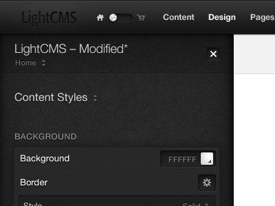 Lightcms promo example 1
