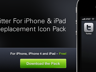 Download Button iphone retina icon button detail interface twitter fireworks