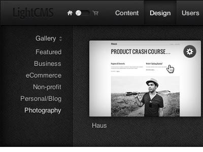 New Design Section