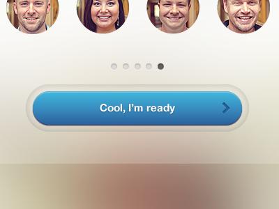 I'm Ready light cms button ui walkthrough interface