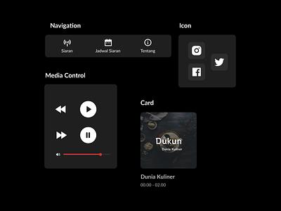 Radio PPI Project - UI Components component ui radio media player