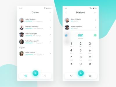 Dialer app Light   Exploration