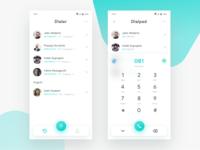 Dialer app Light | Exploration