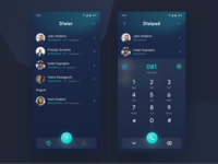 Dialer app Dark | Exploration