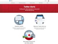 Twitter Alerts - Partner portal