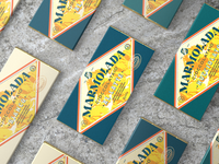 MARMOLADA CHOCOLATE lettering typography branding identity brand italian chocolate print packaging